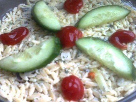 Przepis: Sałatka pieczarkowa z makaronem ryżowym