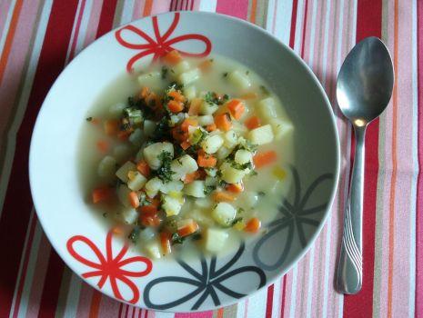 Przepis: Zupa pietruszkowa