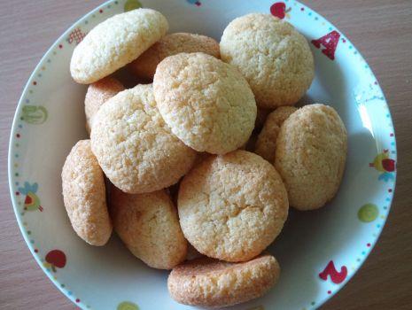 Przepis: Ciasteczka z kaszki ryżowej