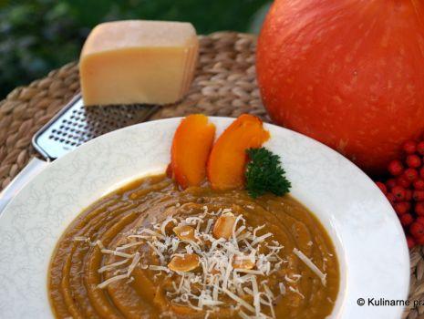 Przepis: Zupa krem z pieczonej dyni