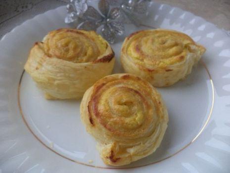 Przepis: Ciasteczka francuskie z serem