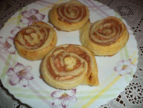Przepis: Ciasteczka  francuskie o smaku piernikowym