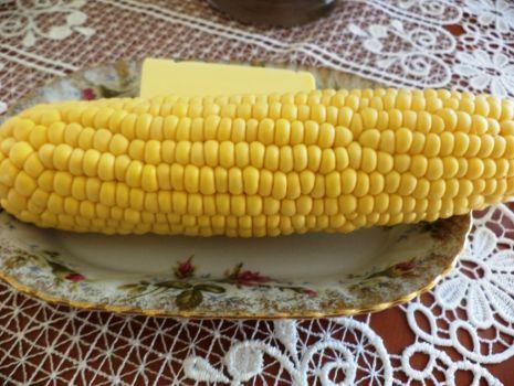 Przepis: Kukurydza z masełkiem