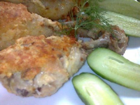 Przepis: Pałki kurczaka w panierce