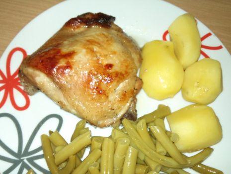 Przepis: Kurczak w marynacie z sosem worcester