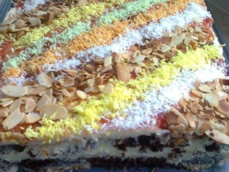 Przepis: Ciasto 3 w 1