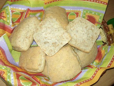 Przepis: Bułki pszenno-żytnie z otrębami