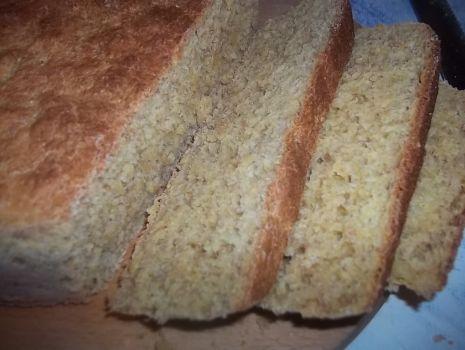 Przepis: Chleb kukurydziano-pszenno-razowy