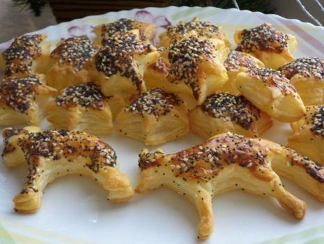 Przepis: Ciasteczka francuskie z makiem i sezamem