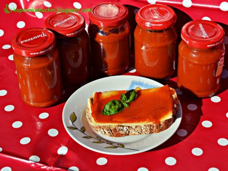 Przepis: Domowy ketchup