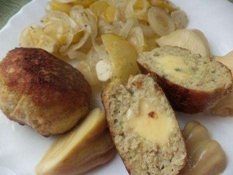 Przepis: Kotlety mielone z serem