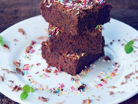 Przepis: Brownie z makiem