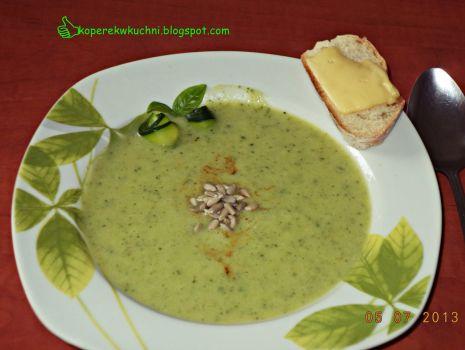 Przepis: Zupa krem z cukinii