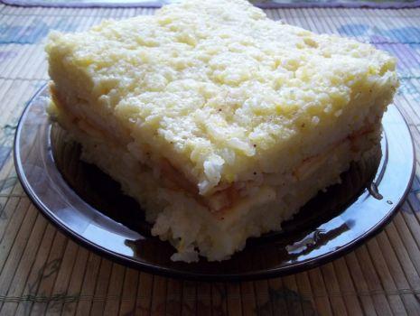Przepis: Zapiekanka ryżowa z jabłkiem