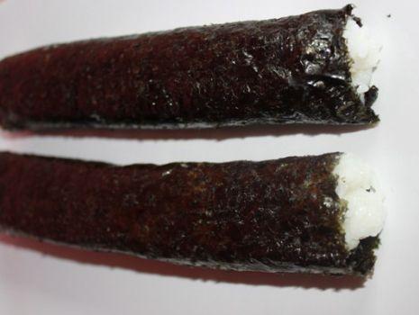 Przepis: Sushi z ogórkiem świeżym