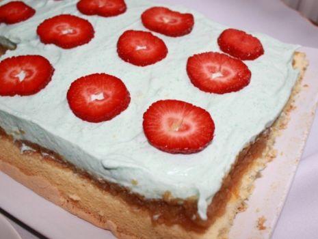 Przepis: Błękitne ciasto