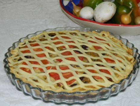 Przepis: Warzywna tarta