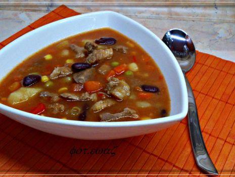 Przepis: Zupa gulaszowa