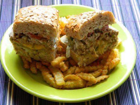 Przepis: Hamburgery z frytkami