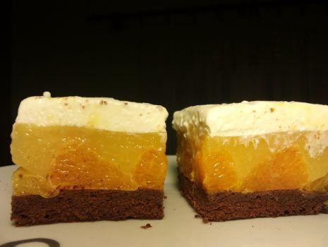 Przepis: Ciasto mandarynkowe