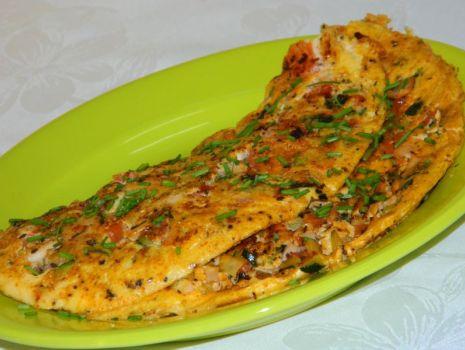 Przepis: Omlet z warzywami