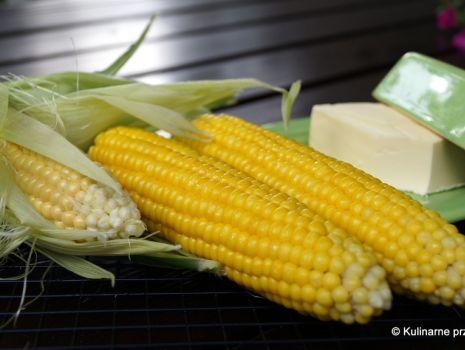 Przepis: Kukurydza gotowana na parze