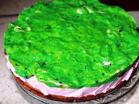Przepis: Zielony deser