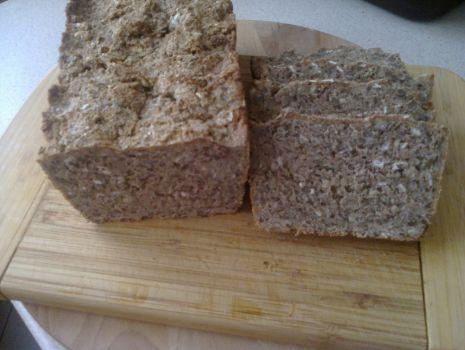 Przepis: Żytni razowy chlebek Kasi