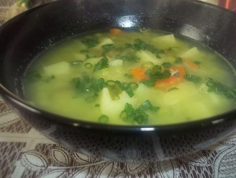 Przepis: Zupa z zielonego groszku