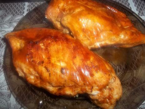 Przepis: Nadziewana pierś z kurczaka