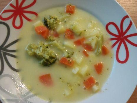 Przepis: Zupa brokułowo-serowa