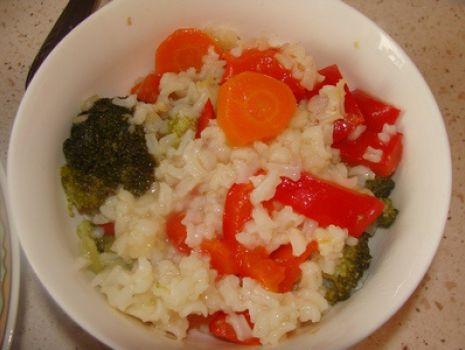 Przepis: Warzywa z ryżem na kolację