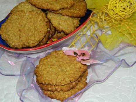 Przepis: Ciasteczka owsiane