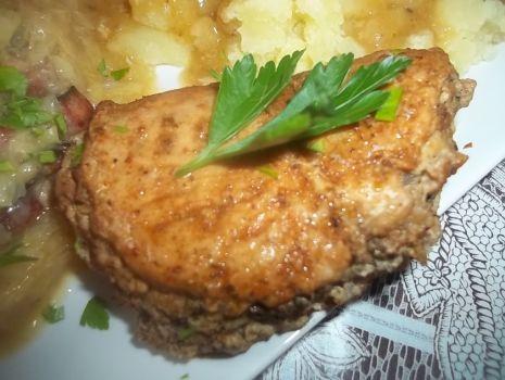 Przepis: Pierś z kurczaka z mięsem mielonym