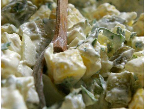 Przepis: sałatka ziemniaczana
