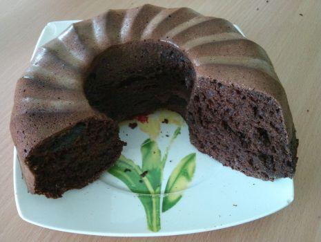 Przepis: Pełnoziarniste ciasto czekoladowe