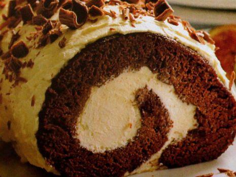 Przepis: Rolada czekoladowa :)