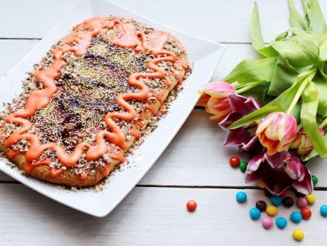 Przepis: Mazurek Wielkanocny z czekoladą miętową