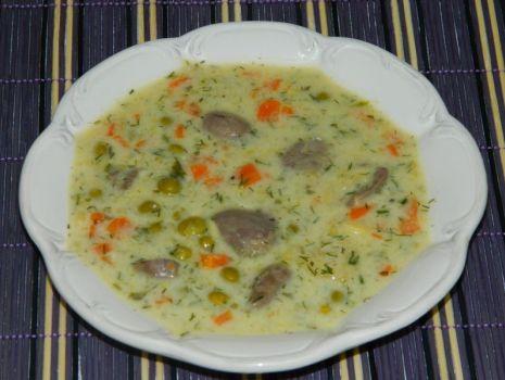 Przepis: Zupa z groszkiem