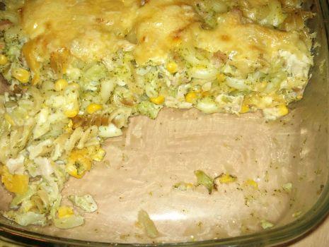 Przepis: Zapiekanka z dynią i brokułem