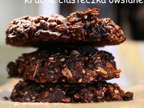 Przepis: Kruche ciasteczka owsiane