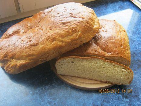 Przepis: Wiejski pszenny chleb na słodko