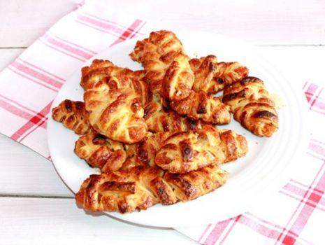 Przepis: Francuskie ciastka z musem jabłkowym