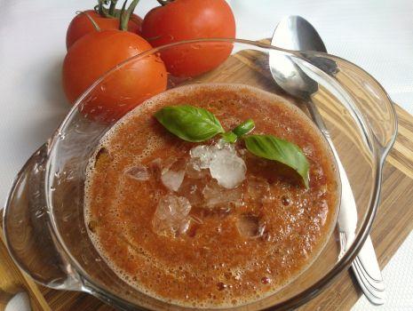 Przepis: Gazpacho -  chłodnik z pomidorów