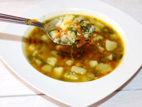Przepis: Zupa koperkowa z kaszą perłową