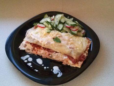 Przepis: lasagne z miesem