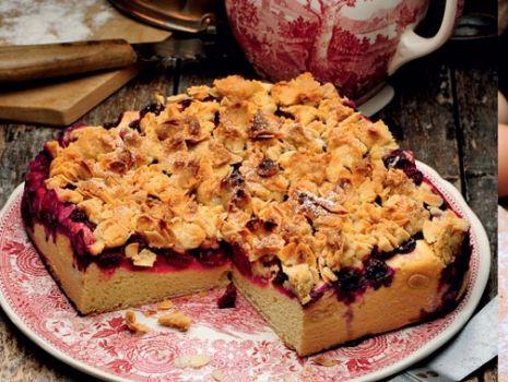 Przepis: Ciasto z wiśniami