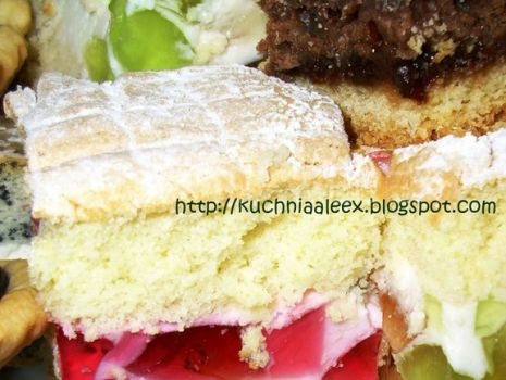 Przepis: Wiosenne ciasto wg Aleex