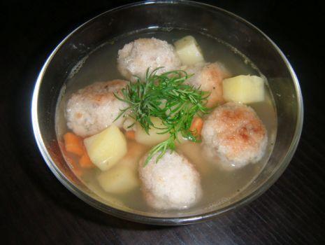Przepis: Zupa rybna z pulpetami