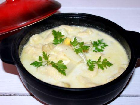 Przepis: Zupa ze szparagami